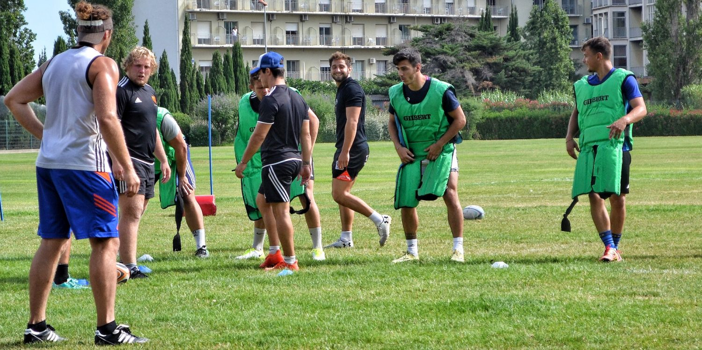 Planning des entraînements : semaine face à Biarritz